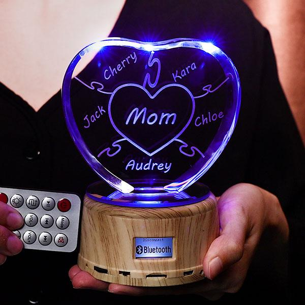 Bluetooth - Colorful Music Crystal Light DAD